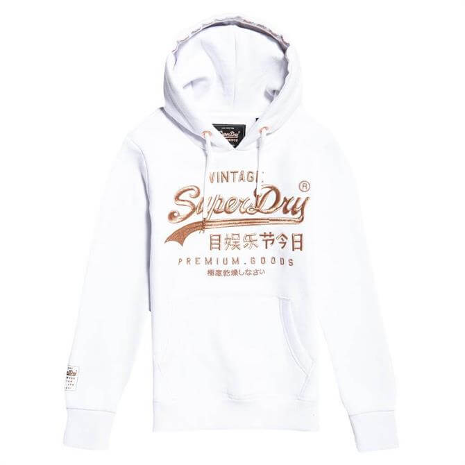 Superdry Classic Rainbow Embroidered Logo Hoodie
